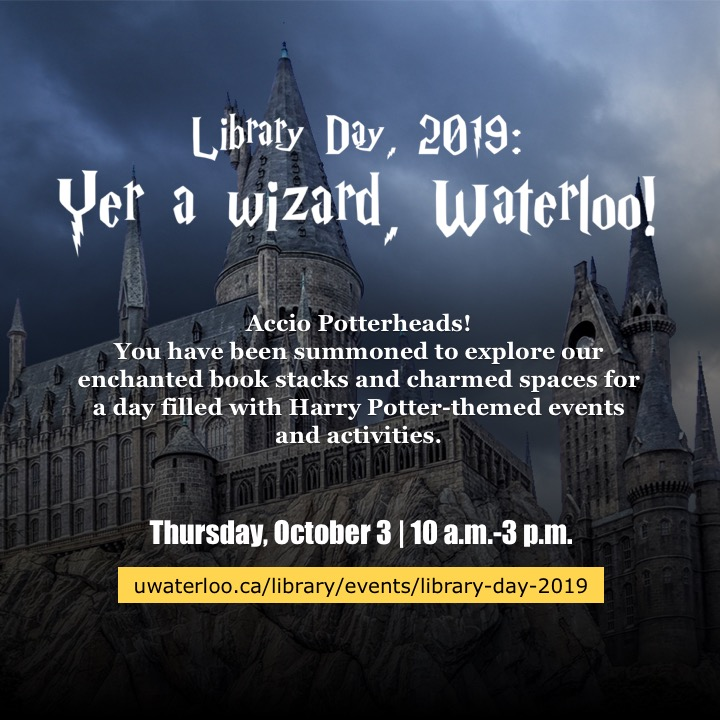 Events | Library | University of Waterloo