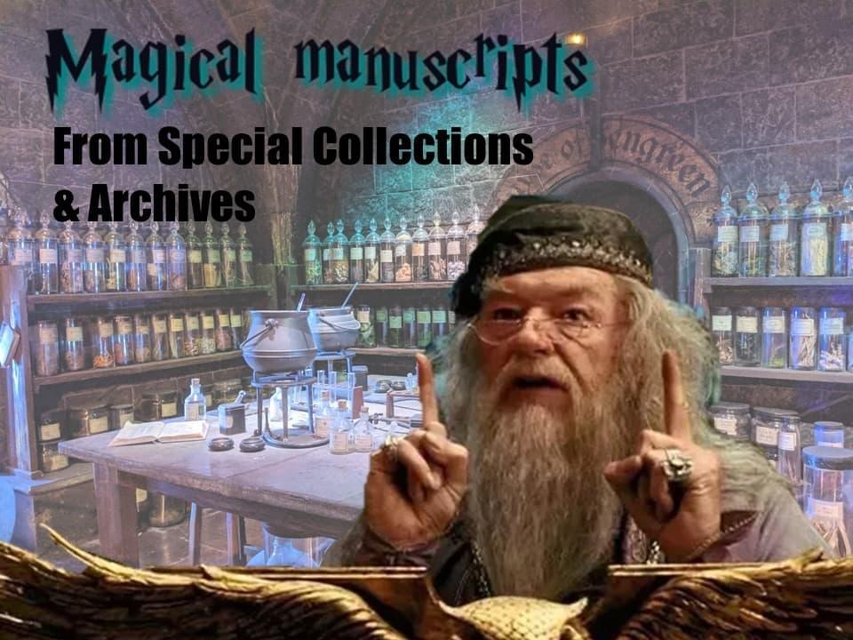 magical manuscripts