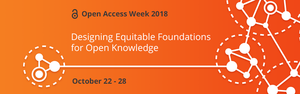 Open access week, designing equitable foundations for open knowledge