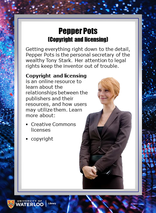 Pepper Pots (Copyright and licensing)