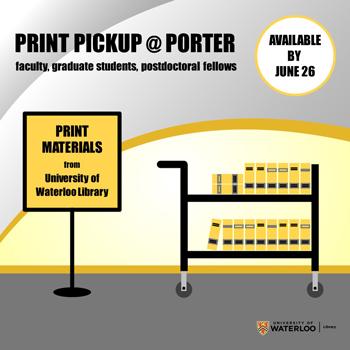 Print Pickup @ Porter
