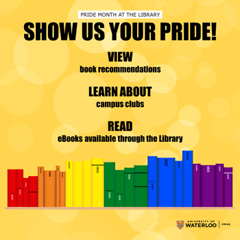 Pride Month at the Library: show us your pride!