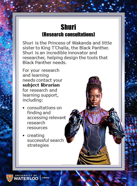 Shuri (Research consultations)
