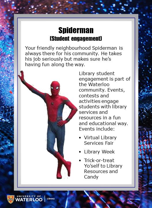 Spiderman (Student engagement)