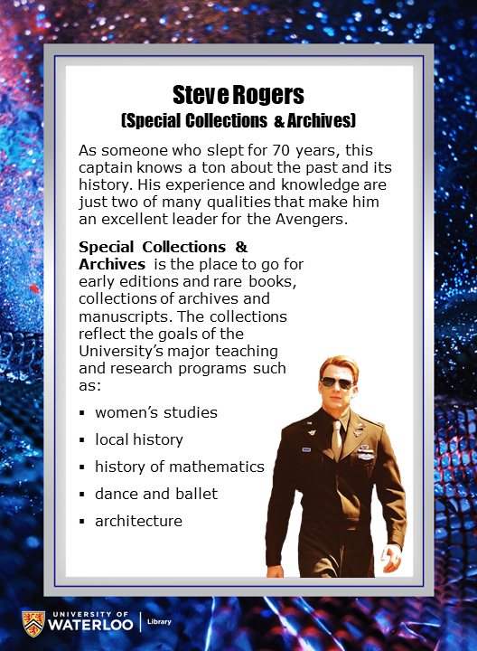 Steve Rogers (Special Collections & Archives)