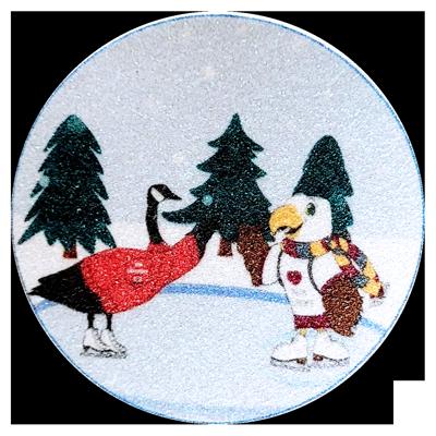 birds of encouragement sticker