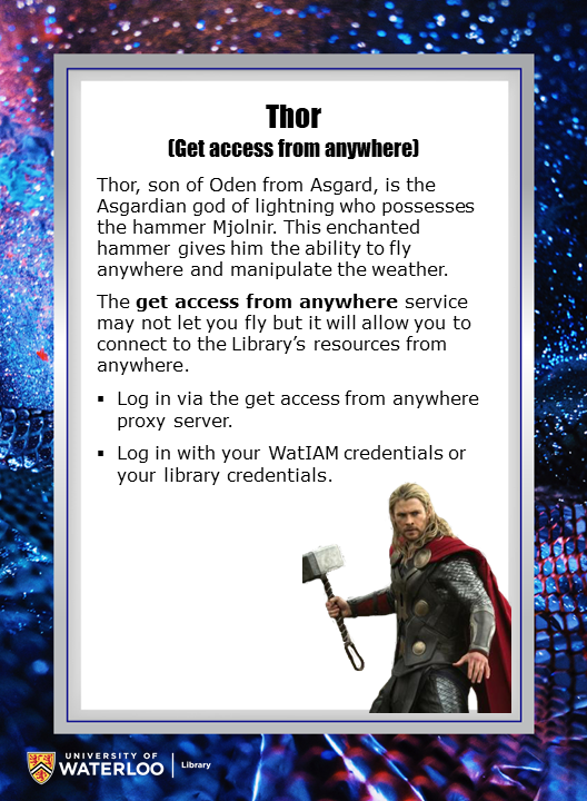 Thor (Get access from anywhere)