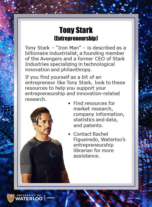 Tony Stark (Entrepreneurship)