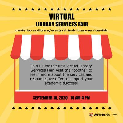 Virtual Library Services Fair