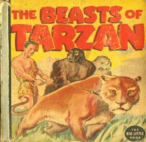 beasts of tarzan book cover