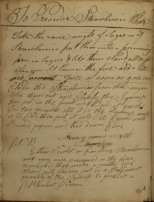 Page from Manuscript Cookbook.