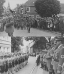 Two images of Nazis from the Kenneth Rowntree Germany collection