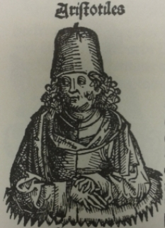 Portrait of Aristotle.