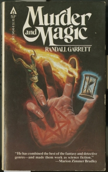 "Cover of ""Murder and Magic""."