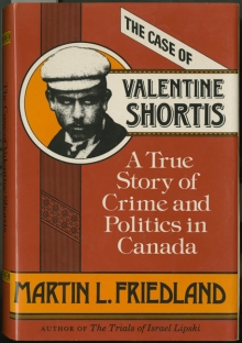 "Cover of ""The Case of Valentine Shortis""."