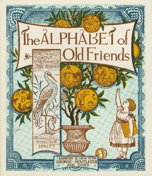 Alphabet of Old Friends cover