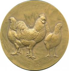 Medallion with chicken