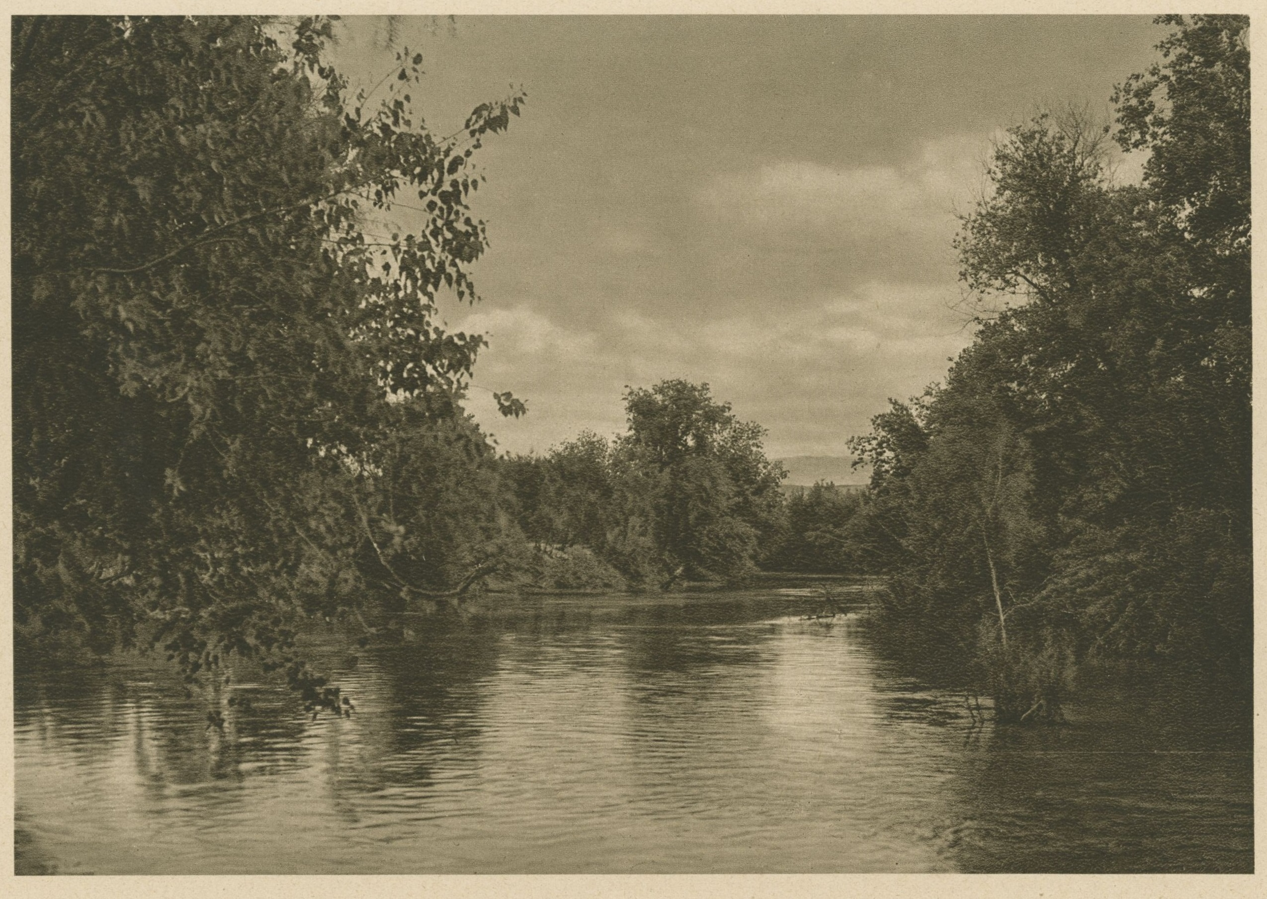 Photo of a river