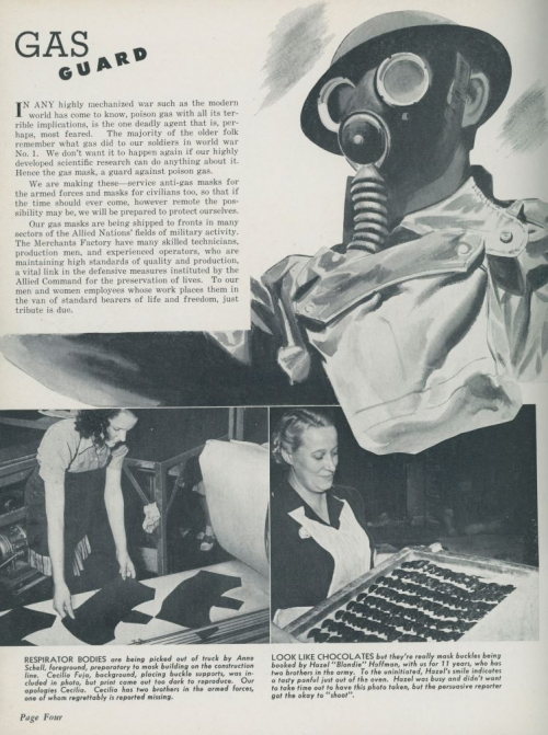 Article on gas masks page 1