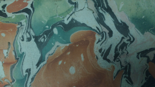 Image of page marbling