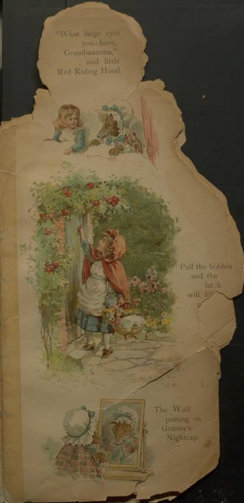 illustrations from Red Riding Hood
