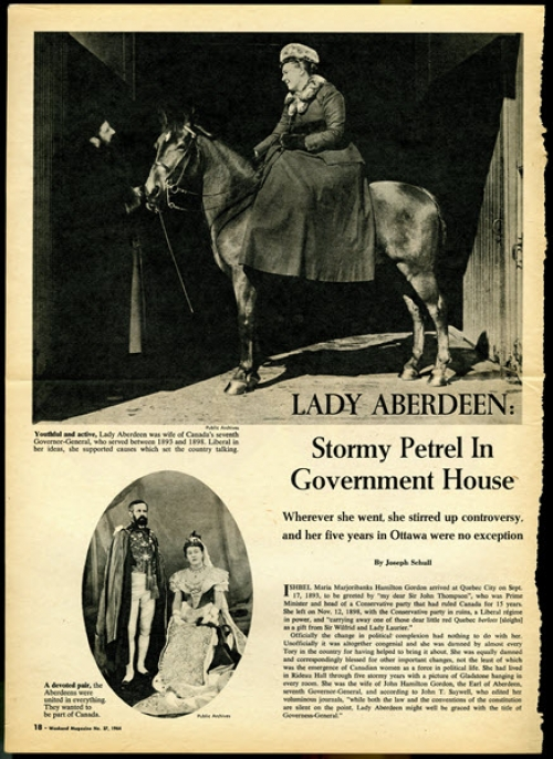 Lady Aberdeen article.