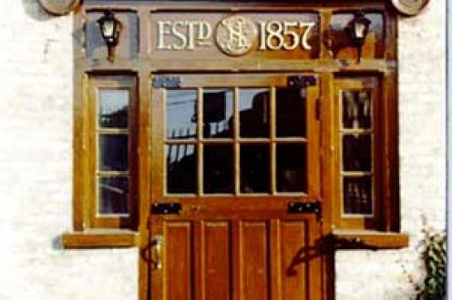 Seagram door.