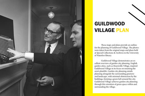 Introduction to maps and plans of Guildwood Village.