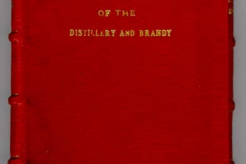 Instruction for Surveyors of the Distillery and Brandy: front cover.