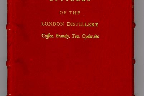 Instructions for the Officers of the London Distillery: Coffee, Brandy, Tea, Cyder, &c.