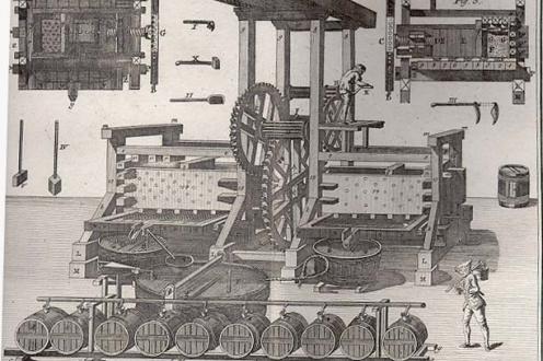 Tractatus De Vitis Cultura illustrations.