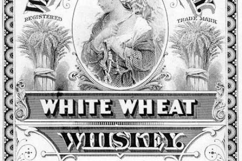 White Whiskey label.