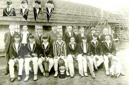 Waterloo Cricket Club portrait.