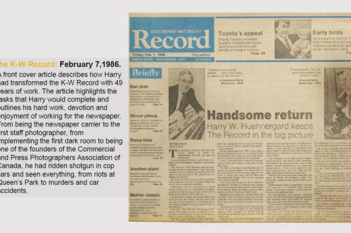 The K-W Record: February 7,1986.