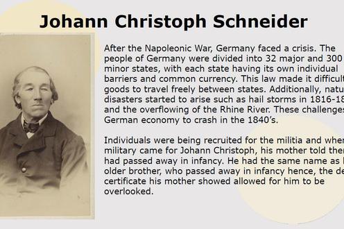 Johann Christoph Schneider