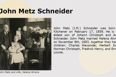 John Metz Schneider