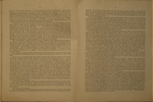 Four pages of leaflet.