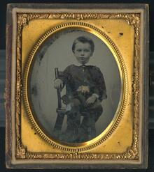 Ambrotype of unidentified individual