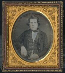 Daguerreotype of unidentified individual