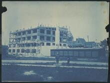 Cyanotype of Berlin Rubber Manufacturing Company factory