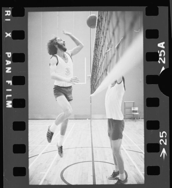 Kitchener Record: Volleyball Practice, March 7th 1973