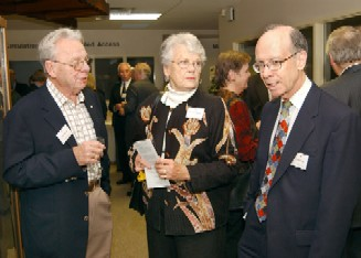 Ken and Marilyn Murray with Bryan Dare