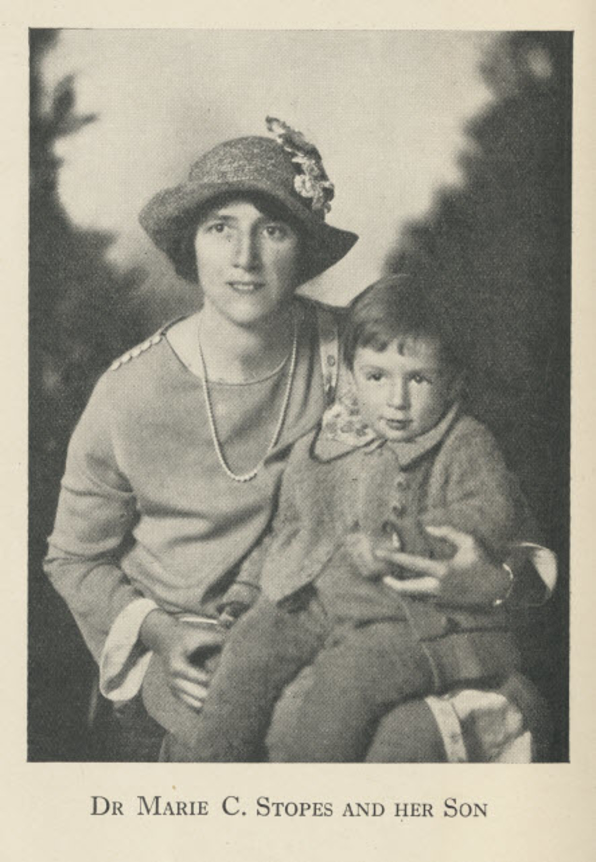 Marie Stopes and her son Harry.