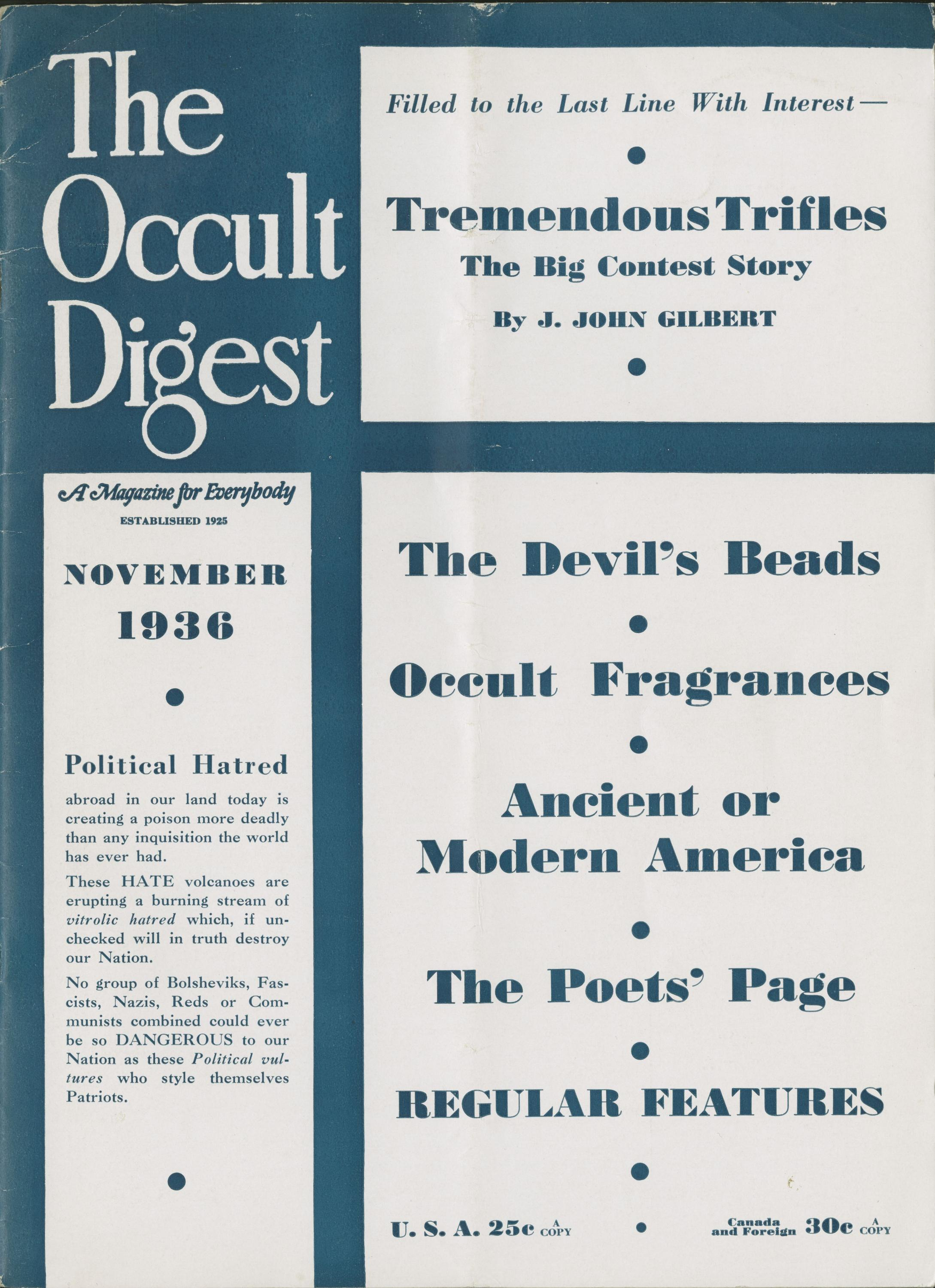 Horror & Occult Classics | Special Collections & Archives ...