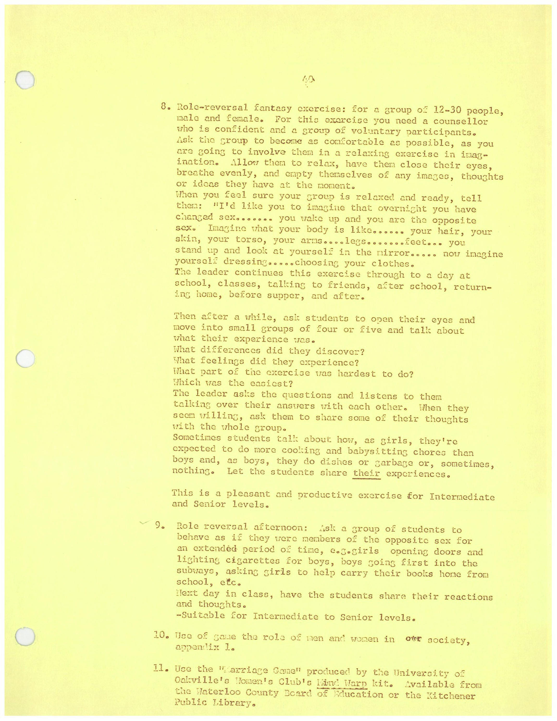Women Education News Unteaching Sexism Special Collections