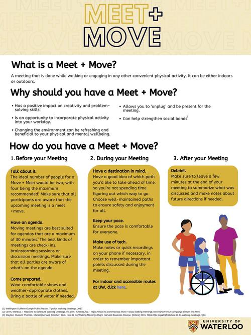 Moving meeting tips