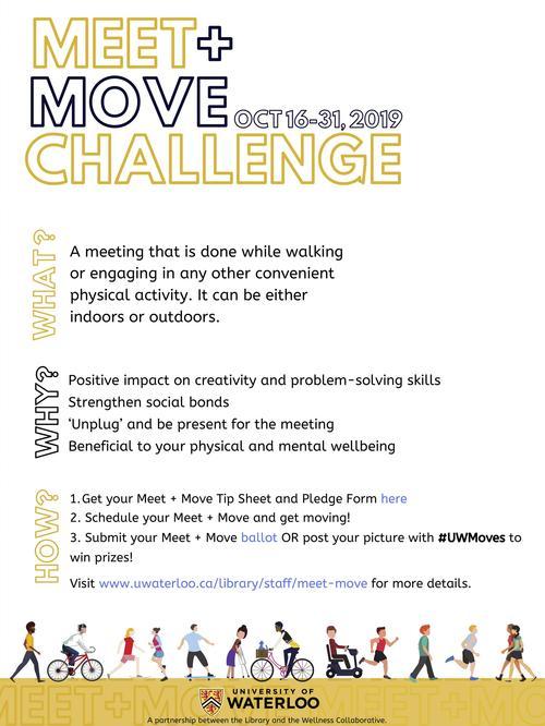 MEET + MOVE poster