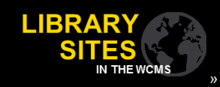 Library sites in the WCMS