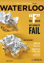 Fall magazine cover - headlines in accompanying description
