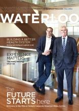 Waterloo Magazine Fall 2012 Edition